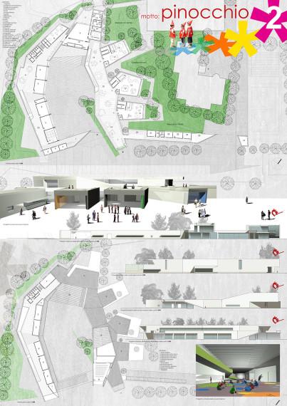 Concorso di idee per la realizzazione del polo scolastico di pedaso in loc val d aso mario - Tavola valdese progetti approvati 2015 ...
